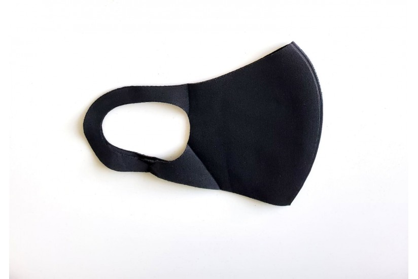 Kids -  S/M- Non-medical Face Covers-Black